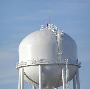 NADC Water Tower, Ames, Iowa 24 Repeater